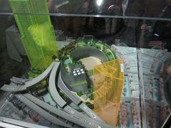 大橋ジャンクションの模型